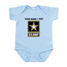 Custom U.S. Army Gold Star Logo Body Suit
