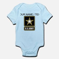 Custom U.S. Army Gold Star Logo Body Suit