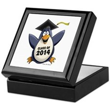 Class of 2014 Penguin Keepsake Box