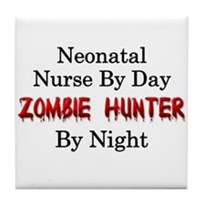 Neonatal Nurse/Zombie Hunter Tile Coaster