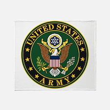 U.S. Army Symbol Throw Blanket