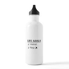 Violinist Ninja Life G Water Bottle