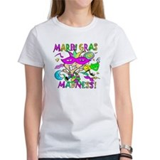 Mardi Gras Madness, /Women T-Shirt