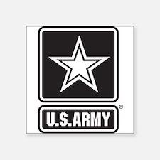 U.S. Army Black And White Star Logo Sticker