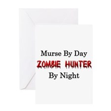 Murse/Zombie Hunter Greeting Card