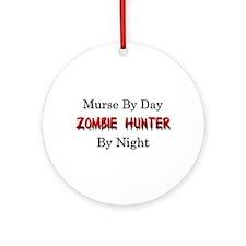 Murse/Zombie Hunter Ornament (Round)