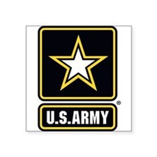 U.S. Army Gold Star Logo Sticker