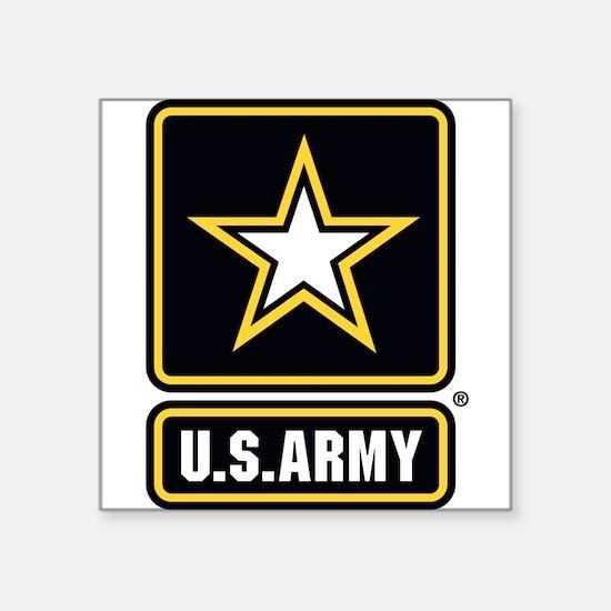 U.S. Army Gold Star Logo Sticker