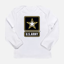 U.S. Army Gold Star Logo Long Sleeve T-Shirt