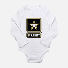 U.S. Army Gold Star Logo Body Suit