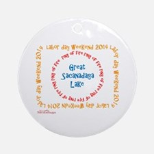 Ring Of Fire 2014 Ornament (Round) Ornament (Round
