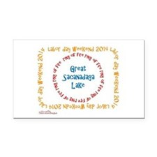 Ring Of Fire 2014 Rectangle Rectangle Car Magnet