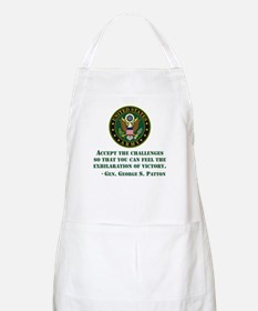 The Exhilaration Of Victory Quote Apron
