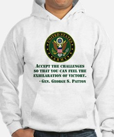 The Exhilaration Of Victory Quote Hoodie