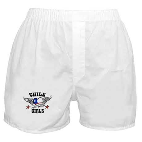 I love My Chilean Boy Friend Boxer Shorts