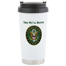 This Well Defend Army Travel Mug