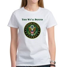 This Well Defend Army T-Shirt