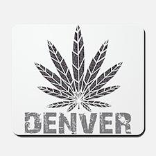 Denver Dark Leaf Mousepad