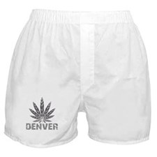 Denver Dark Leaf Boxer Shorts