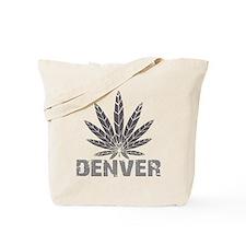 Denver Dark Leaf Tote Bag