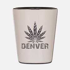 Denver Dark Leaf Shot Glass