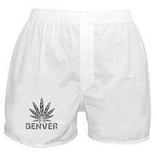Denver Dark Leaf Boxer Shorts