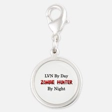 LVN/Zombie Hunter Silver Round Charm