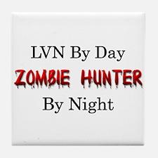 LVN/Zombie Hunter Tile Coaster