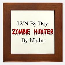 LVN/Zombie Hunter Framed Tile