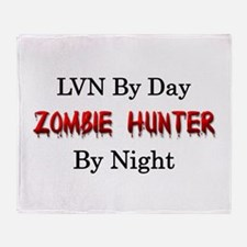 LVN/Zombie Hunter Throw Blanket
