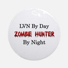 LVN/Zombie Hunter Ornament (Round)
