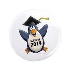 "Class of 2014 Penguin 3.5"" Button"