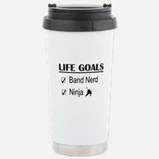 Band Nerd Ninja Life Go Travel Mug