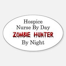 Hospice Nurse/Zombie Hunter Decal