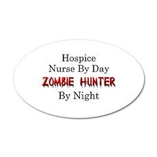 Hospice Nurse/Zombie Hunter Wall Decal