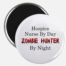 "Hospice Nurse/Zombie Hunter 2.25"" Magnet (10 pack)"