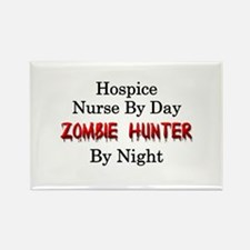 Hospice Nurse/Zombie Hunter Rectangle Magnet