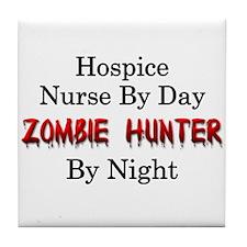 Hospice Nurse/Zombie Hunter Tile Coaster