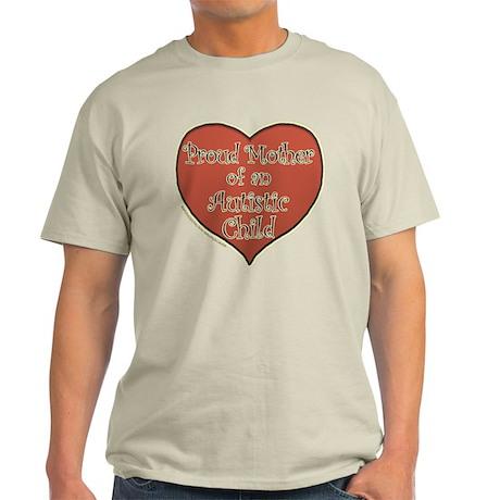 Proud Mother/Autistic child Light T-Shirt