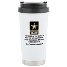 The Right Thing To Do Quote Travel Mug