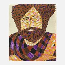jerry garcia Throw Blanket