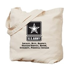 U.S. Army Values Tote Bag