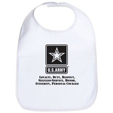 U.S. Army Values Bib