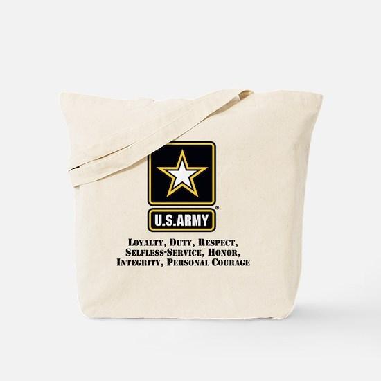 U.S. Army Values Tote Bag