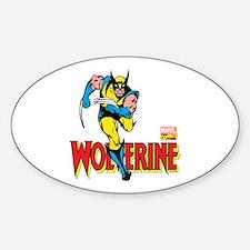 Wolverine Running Decal