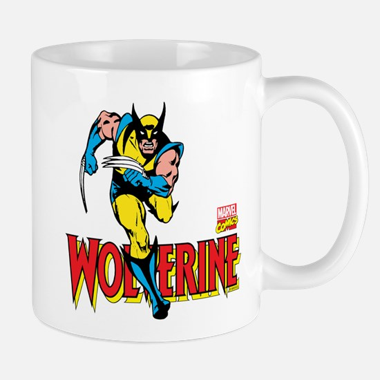 Wolverine Running Mug