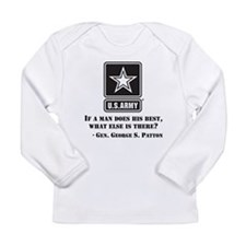 If A Man Does His Best Quote Long Sleeve T-Shirt