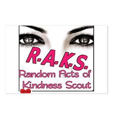 RAKS SQL Postcards (Package of 8)