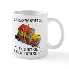 Old Truckers Never Die<BR>Coffee Cup