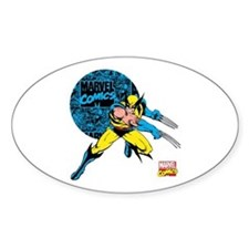 Wolverine Circle Decal